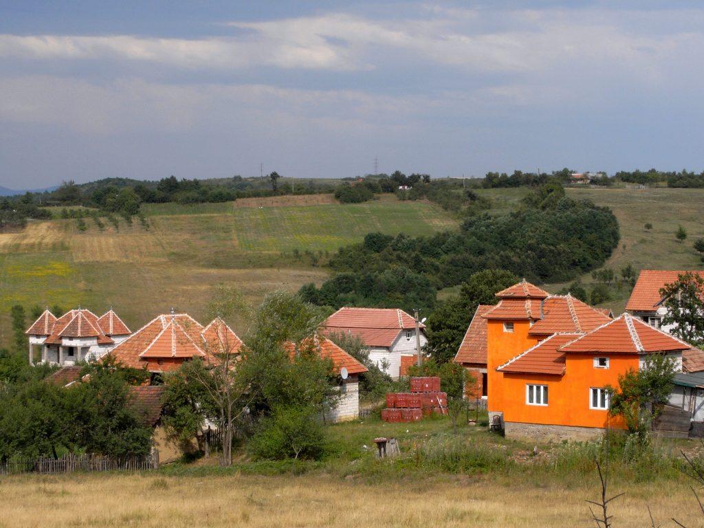 Rumänische Neubausiedlung